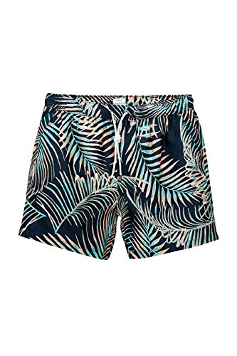 next-Hombre-Baador-Pantalones-Cortos-Estampado-Cinturilla-Elstica-Con-Cordones-Ajustables