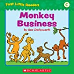 First Little Readers: Monkey Business...