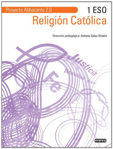 Portada del libro Religión Católica 1º ESO. Proyecto Abbacanto 2.0. - 9788444172644