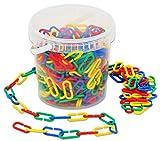 Betzold 85049 - 500 Kettenglieder - Rechnen lernen mit Zahlen, Mengen und Längen, Mathematik, bunt