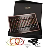 Knit Pro 20692Juego agujas circulares intercambiables Symfonie en caja, madera, sinfonía, 27x 18x 4cm