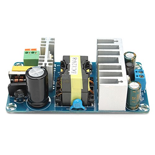 Zkee Shop 12V 6A to 8A Schaltnetzteil Switching Power Supply Board AC-DC Power Module Circuit Board Leistungsmodul -