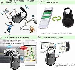 Intelligenter GPS Tracker Mini Bluetooth Locator Anti-verloren Schlüsselfinder Auto Brieftasche Haustier Hund Blau