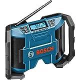 Precise Engineered Bosch SX-ProSPEC GML 10.8 V Cordless Job Site Radio Mains or 10.8v Battery Powered [Pack of 1] - w/3yr Rescu3® Warranty