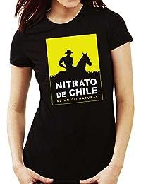 35mm - Camiseta Mujer Nitrato De Chile-Retro 80s