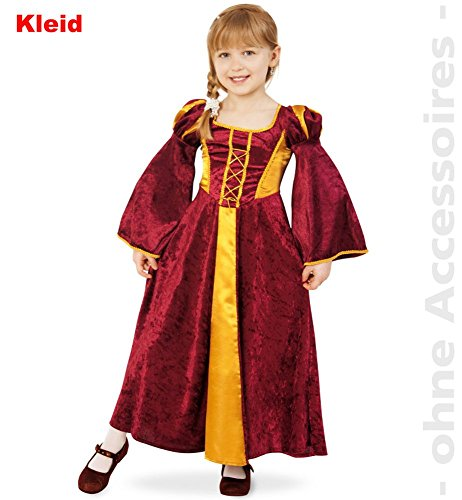 Burgfräulein Mia, Kleid Größe 104