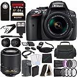 Best Nikon Batteries For Flashes - Nikon D5300 DSLR Camera with 18-55mm Lens (Black) Review