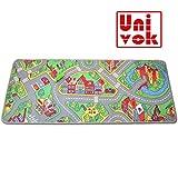 Univok Spielteppich Straße, Straßenteppich für Kinder, Spieleteppich Neu