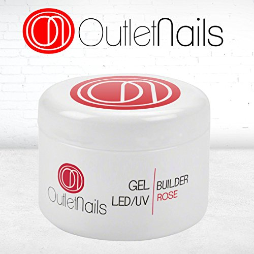 Gel Construccion Rose UV/LED 50ml Uñas/Builder Gel