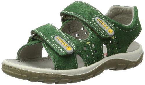Naturino 5671, Sandali con Cinturino Dietro la Caviglia Bambino verde (Grün (Verde 9103))