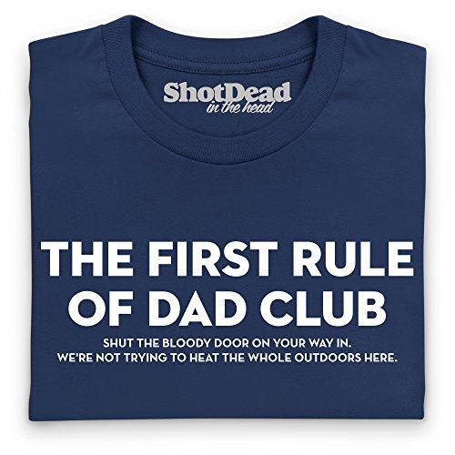 Dad Club T-Shirt, Herren Dunkelblau