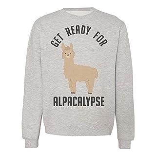 IDcommerce Get Ready for Alpacalypse Unisex Sweatshirt Small