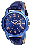 Just Like Day and Date Analogue Bluel Men's Combo Watch for -Men