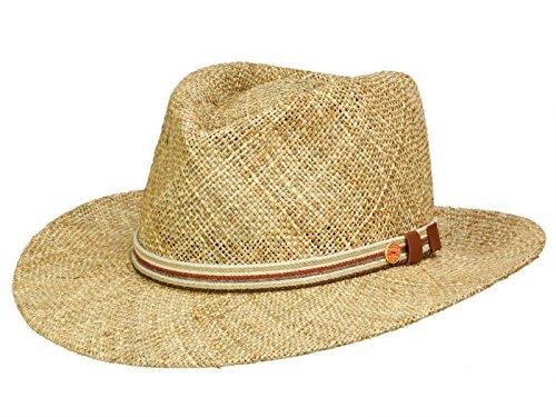 Mayser Mayser Calas Strohhut Fedora Hut aus Stroh - natur 56
