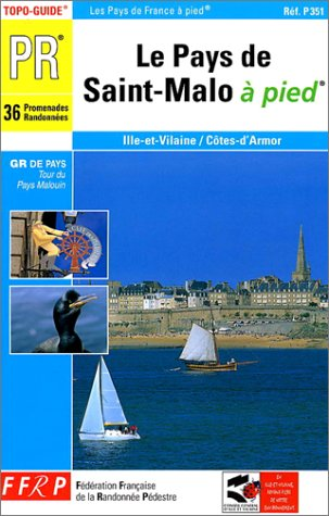 Le pays de St-Malo à pied par Guide FFRP