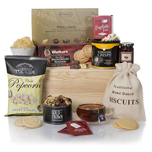 Teatime Delights Hamper, Luxury Afternoon Tea Gift Hampers, Hampers Gift Baskets
