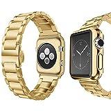 Apple Watch Armband MLIYA Edelstahl Replacement Wrist Strap Replacement Ersatzband Uhrenarmband...