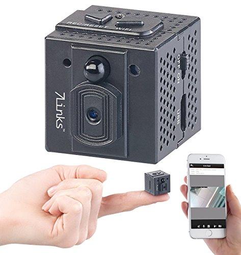 7links Mini Kamera: HD-Micro-IP-Überwachungskamera mit WLAN, Nachtsicht & App-Zugriff (Mini IP Kamera)