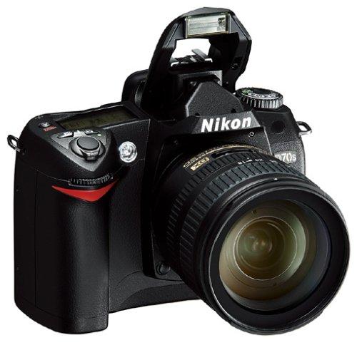 Nikon D70s SLR-Digitalkamera (6 Megapixel) Gehäuse in schwarz inkl. 1GB CF Ultra II Karte - 3
