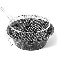CERIANI Fryer fer/porcelaine panier 30