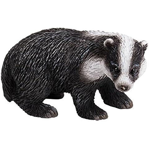 Miniatura mundo animales–Ardilla & Tejón–Juego de 2(mw04–009)