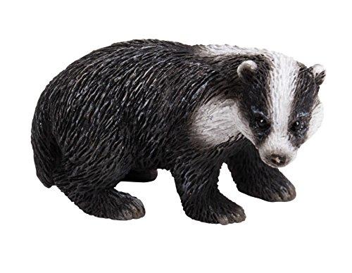 Miniature monde animaux – Écureuil et blaireau – Lot de 2 (mw04–009)