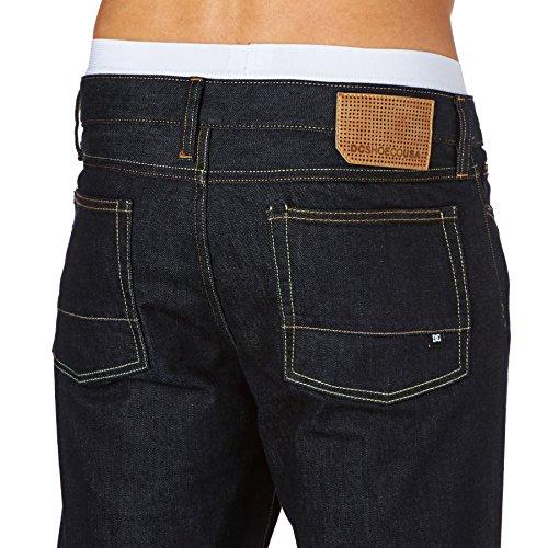 DC Jeans Worker Slim Indigo Rinse Blau
