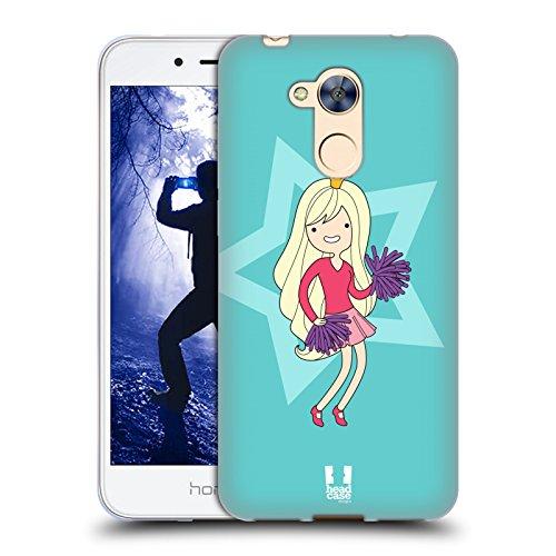 Head Case Designs Cheerleader Weibliche Teenager Soft Gel Hülle für Huawei Honor 6A