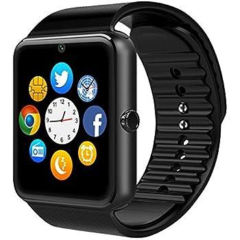 chereeki bluetooth smart watch pouces montre intelligente avec ecran tactile supporte. Black Bedroom Furniture Sets. Home Design Ideas