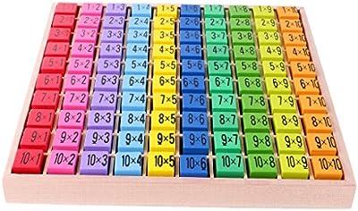 Tabla De Madera Tiempos Tabla De Multiplicar Las Matemáticas Regalo Del Niño Del Juguete Educativo