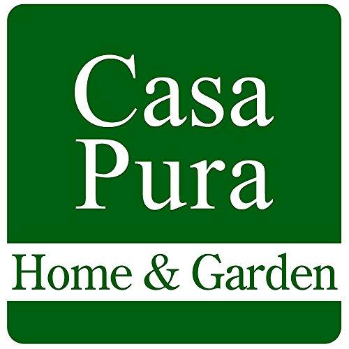 casa pura® Premium Fußmatte / Sauberlaufmatte für Eingangsbereiche | Fußabtreter mit Testnote 1,7 | Schmutzfangmatte in 8 Größen als Türvorleger innen und außen | anthrazit - grau | 60x90cm - 6