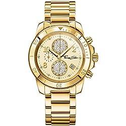"Thomas Sabo Watches, Damenuhr ""GLAM CHRONO"", Edelstahl, WA0191-264-207"