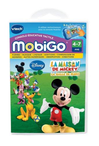 Vtech-250505-Elektronische Lernspiel-Spiel Mobigo-Haus der Mickey