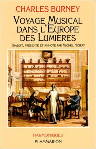Voyage musical dans l'Europe des Lumires