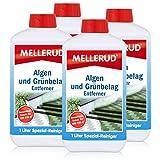 4x Mellerud Algen und Grünbelag Entferner 1L