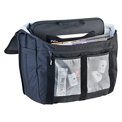 Evoc Kuriertasche Courier Bag, black, 50 x 27 x 14 cm, 25 Liter, 7013408501 Petrol