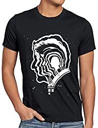 style3 Who Génération T-Shirt Homme dalek dr. doctor time police box space tv