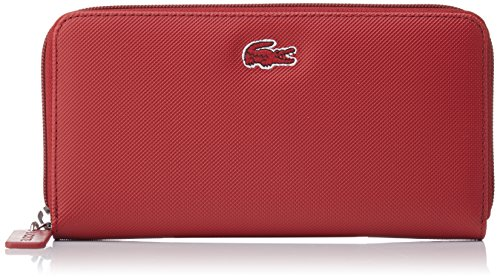 Lacoste Damen L1212 Concept Brieftasche, Rouge (Biking Red), One Size (Geldbörsen Lacoste)
