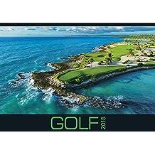 Golf 2018 - Sportkalender / Golfkalender international (49 x 34)
