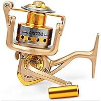 JOYOOO Metal Spinning Fishing Reels Fly Wheel For Fresh/ Salt Water Fishing Tool Accessories (7000)