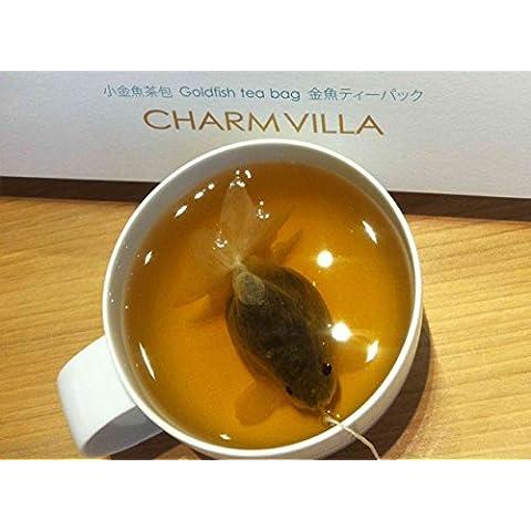 GoldFish Bustine di tè, (rosa Oolong), confezione da 12 pezzi - Oolong Di Taiwan Tè