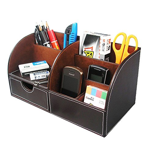 itian-7-storage-compartment-multifunctional-pu-leather-mesh-desk-tidy-organizer-collection-business-