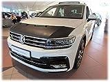 AB-00819 Volkswagen VW Tiguan 2016- BRA DE CAPOT - PROTEGE CAPOT Tuning Bonnet Bra
