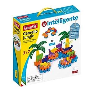 Quercetti - Georello Jungle, Juego de construcción (2336)