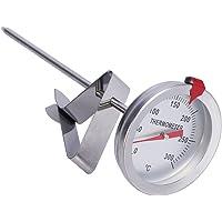 BESTonZON Thermomètre de friture avec thermomètre de Cuisson de la Viande à Tige en Acier Inoxydable à Lecture…