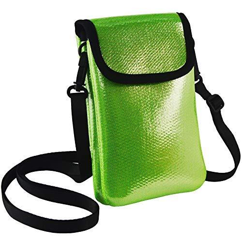 TIFRY Handtasche für Mädchen und Damen, mit Riemen, (Green Phone Bag), Einheitsgröße (Iphone 6 Release-datum)