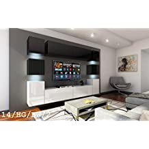 Tv schrank modern led  Suchergebnis auf Amazon.de für: Wohnwand modern Hochglanz