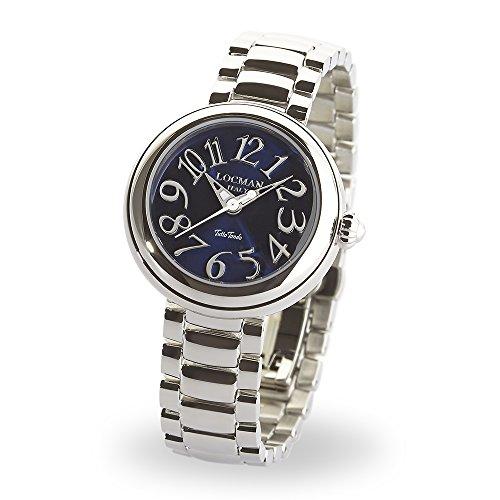 Locman Italy Mujer Reloj Tutto Tondo Azul Acero 31mm Ref. 361