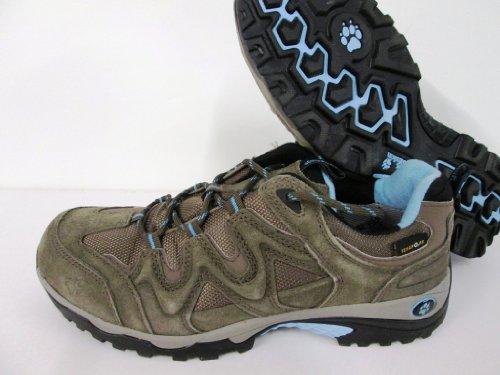Jack Wolfskin Canyon Hiker Texapore Women, Chaussures de Randonnée Hautes Femme Dark Stone
