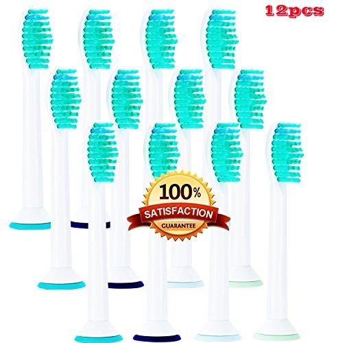 Beauty Nymph Bürstenkopf kompatibel mit Philips Sonicare ProResults, kein Originalteil, Ersatzteile für elektrische Zahnbürste